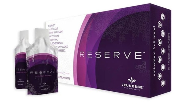 A box of Reserve consists of 30 sachets of healthy and delicious super antioxidant. Price: $137.95.
